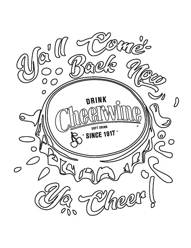 Coloring Sheet_Bottle Cap Splash