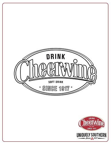 Coloring Sheet_Cheerwine Logo