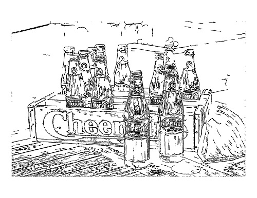 Coloring Sheet_Cheerwine Wood Crate