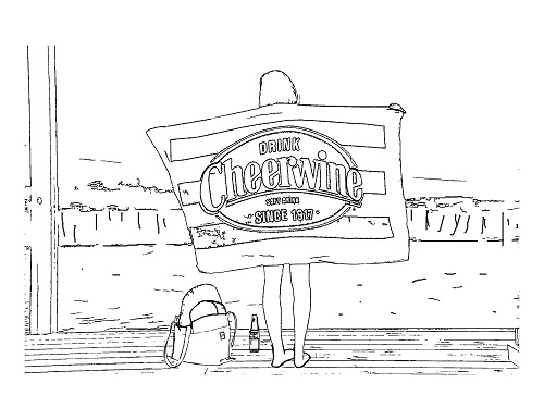 Coloring Sheet_Beach Towel