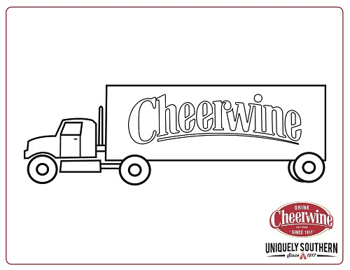 Coloring Sheet_Delivery Truck